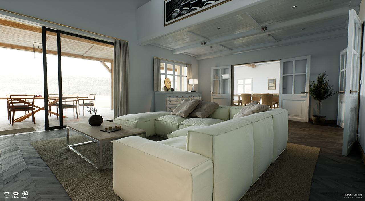 Arbre Bois Blanc Decoration dereau benoît portfolio - archiviz - virtual reality